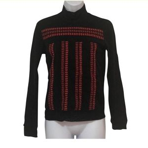 Vivienne Tam Semi-Sheer Embroidered Top
